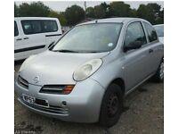 Nissan micra 1.0 3 door light rear damage cat c starts & drives