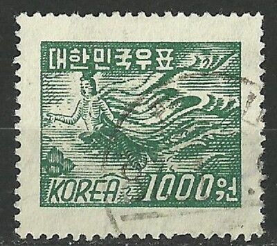Korea Stamps: SC 189 1000 Wn Used