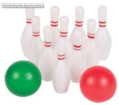 Mini Bowling Sets Game Fun toy bowling birthday gift - Mini Bowling Games