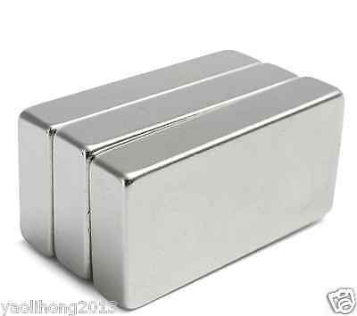 1-10Pcs Neodymium Block Magnet 50x 25x10 mm N52 Super Strong Rare Earth Magnets