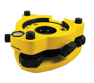 Yellow Optical Plummet Tribrach For Leica Topcon Trimble Nikon Sokkia