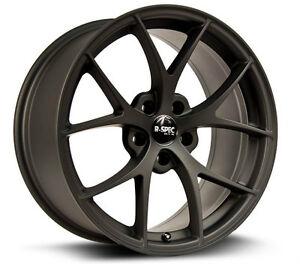 Roues (Mags) R-Spec Vex noir mat, 18 pouces 5-114.3