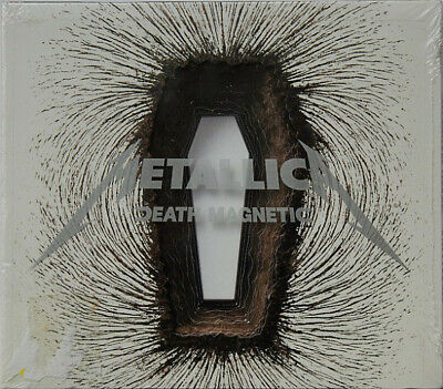 METALLICA - DEATH MAGNETIC - DIGIPAK WITH COFFIN SHAPED HOLES + CAR...