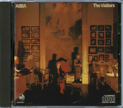 ABBA, THE VISITORS, DISCOMATE CD, FIRST PRESS, JAPAN, 1983