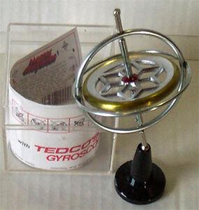 GYROSKOP Kreisel Original Spielzeug Gyroskopkreisel TEDCO USA Experiment-Kreisel