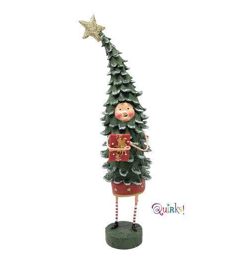 Peter Cedar Tall Christmas Tree Figurine by Lori Mitchell  NIB Free Shipping