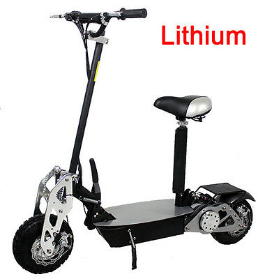New 2020 BLAZE 1200 watt Lithium CHROME Electric Scooter 30mph