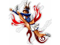 Cheerleader STICKER Decal Poster Artist Coop CP11 LARGE SIZE