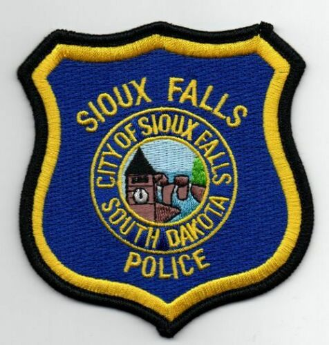 SOUTH DAKOTA SD SIOUX FALLS POLICE NEW PATCH SHERIFF