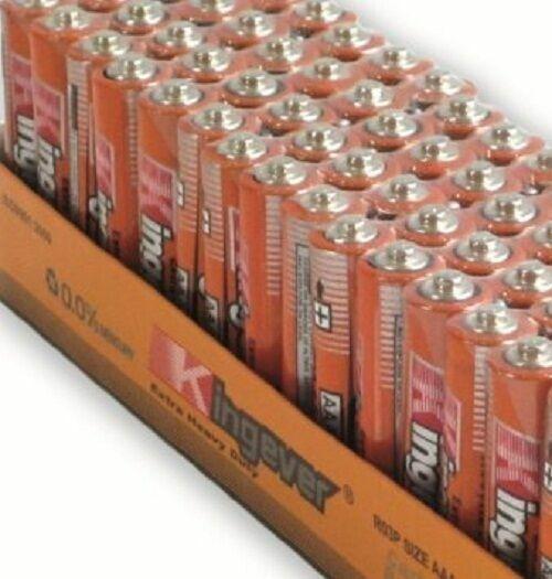 200 Pack AAA Batteries--Kingever