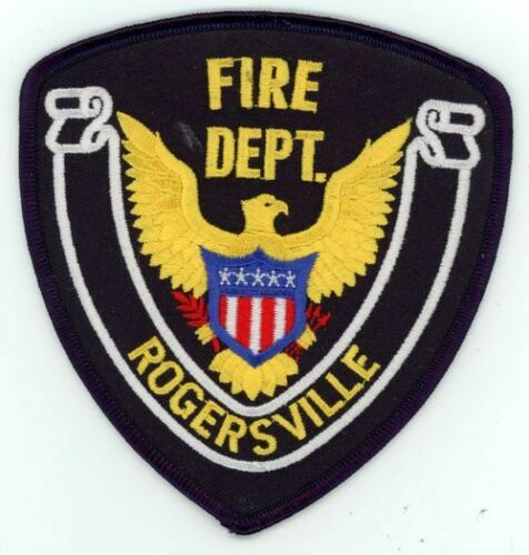 ROGERSVILLE TENNESSEE TN FIRE DEPARTMENT NEW PATCH RESCUE EMS