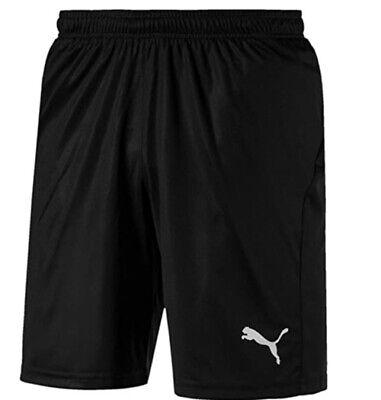 Puma Mens LIGA Shorts Core Black - Medium