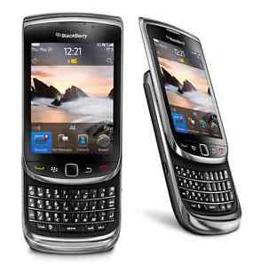 UNLOCKED BLACKBERRY TORCH 9800 ($50) BONNE CONDITION.........  E