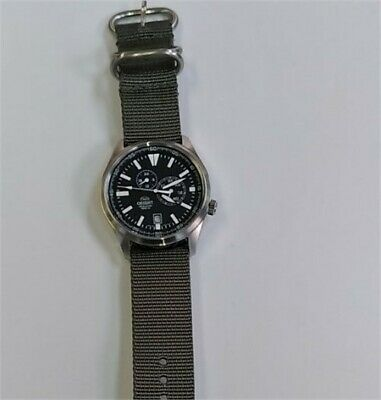 Orient ET0N001B Men's Defender Automatic Watch (With Nylon Strap)