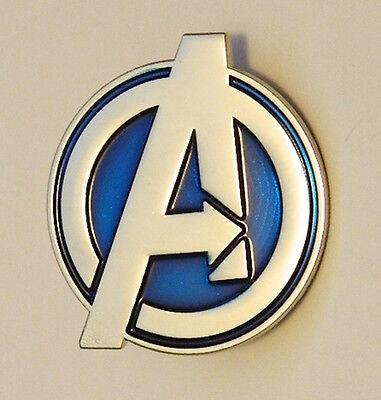 Marvel Comics The Avengers Large A Logo Metal Lapel Pin, NEW UNUSED