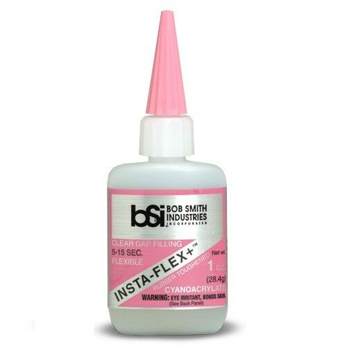 BSI Insta-Cure Super Thin Glue + Gap Filling Glue +Extra Thick 1/2oz 1oz 2oz 8oz