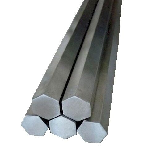 """303 Stainless Steel Hex Rod 1"""" Hex x 36"""" Length, 1 Unit"""