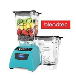 NEW OB BLENDTEC CLASSIC BLENDER 575 141593111 KITCHEN APPLIANCE TEAL OPEN BOX