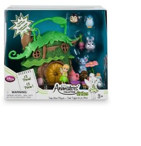Brand New Genuine Disney Tinkerbell Micro Animator Playset Toy