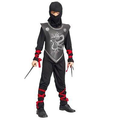 Ninja Kinder Kostüm Japanischer Kämpfer Fasching Karneval Ninjakostüm Jungen - Japanische Kostüm Kinder