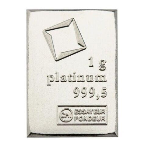 1 Gram Platinum Valcambi CombiBar | .9995 | 1 Gram Platinum Bar | Volume Pricing
