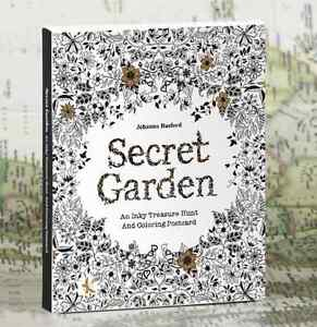 Secret Garden An Inky Treasure Hunt And Coloring Books By