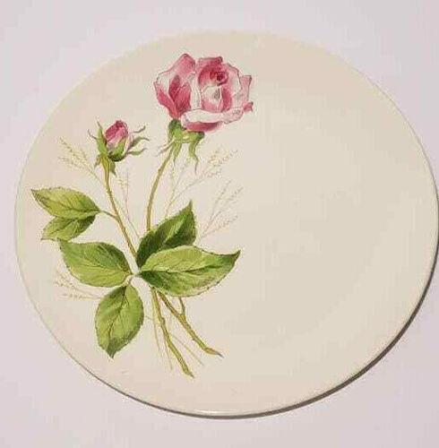 2 Tea Rose Edwin Knowles Dinner Plate