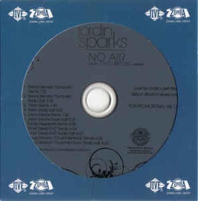 Jordin Sparks  No Air  Remixes  Promo W  Artwork Music Audio Cd Jason Nevins 11T