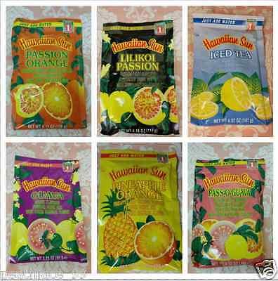 1  Hawaiian Sun All Natural Powder Drink Mix  Makes 1 Quart  Fresh Stock