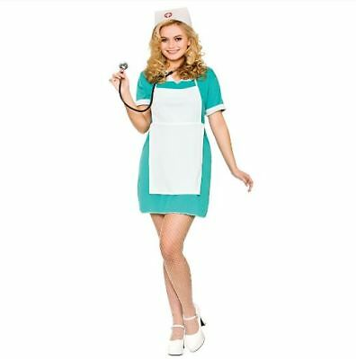 SALE Nurse - Ladies Halloween Wicked Costumes Nurse Fancy Dress Costume  - Nurse Halloween Costumes Sale