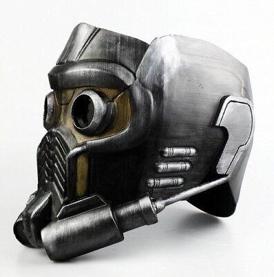 guardians of the galaxy star lord mask maschera stampato - Star Lord Kostüm Maske