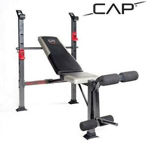 NEW CAP BARBELL STANDARD BENCH WORKOUT - WEIGHT LIFTING - FITNESS 109773678