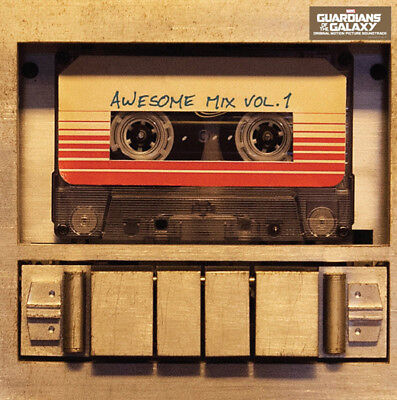 GUARDIANS OF THE GALAXY Soundtrack AWESOME MIX Vol 1 LP Vinyl NEW 2015