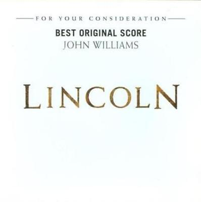 For Your Consideration: Lincoln: Best Original Score FYC PROMO Music CD