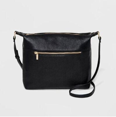 Soft Crossbody Bag - A New Day - Black - NWT