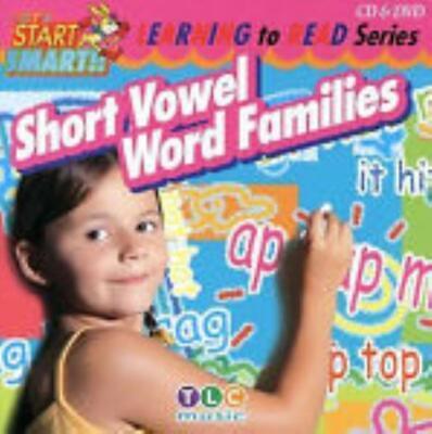 Let's Start Smart: Short Vowel Word Families 2-Disc Set CD & DVD VIDEO MOVIE kid ()
