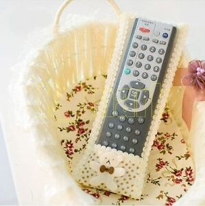 TV Air-Condition Apricot Remote Control Holder Case Cover Protector 21x 7CM