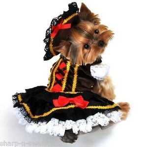 Pet-Dog-Cat-Pirate-Girl-Halloween-Christmas-Gift-Fancy-Dress-Costume-Outfit-S-XL