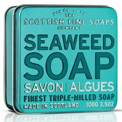 Scottish Fine Soaps Skin Enhancing Seaweed Soap In A Tin 100G 3 5Oz