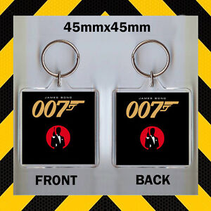 JAMES BOND 007 - KEYRING #45X45 ask