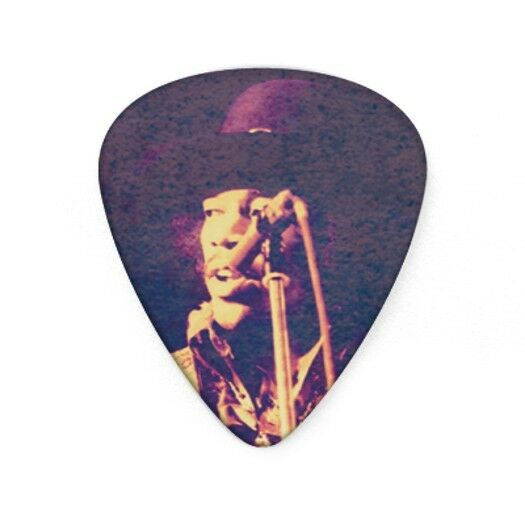 jimi hendrix guitar picks collectible hear my music with picks dunlop ebay. Black Bedroom Furniture Sets. Home Design Ideas