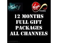 SKYBOX V8s/F3/F5/F6/OPENBOX 12 MONTHS GIFT ALSO FOR ZGEMMA/CLOUD/ DREAMBOX/VU+ SOLO ETC