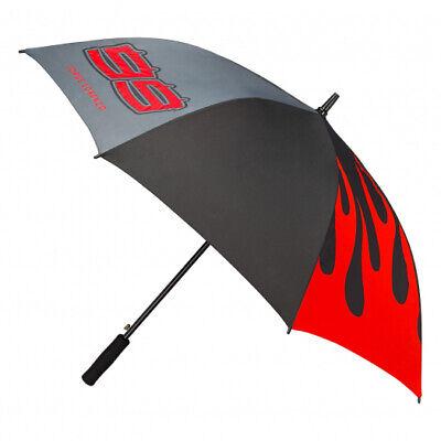 2019 Jorge Lorenzo #99 Large Umbrella Black/Grey/Red Official MotoGP Merchandise
