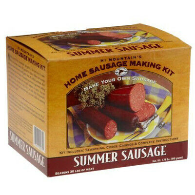 Hi Mountain Seasonings Summer Sausage Making Kit -  Complete Kit, Make -