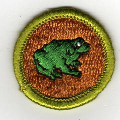 Zoology Merit Badge, Type G, Cloth Back (1969-71), Mint!