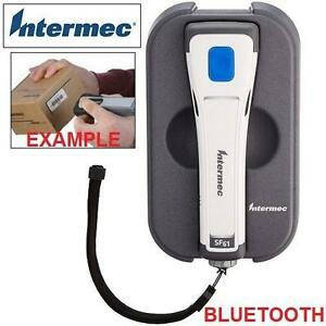 NEW INTERMEC BLUETOOTH SCANNER SF61 HEALTHCARE BARCODE SCANNER W/ BATTERY RING, W-STRAP, CHARGER  PC 105946723
