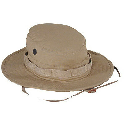 Voodoo Tactical 20-6451830 Men's Khaki Rip-Stop Cotton Boonie Hat - Size 7.5