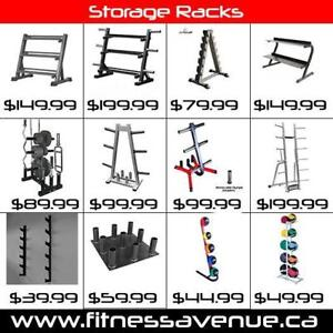 Storage Racks for Dumbbells, Weights Plates and Kettlebells  Brand New