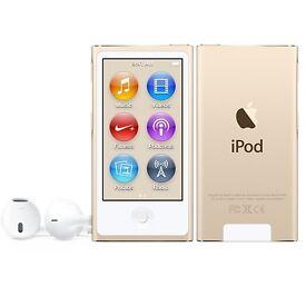 Gold iPod nano