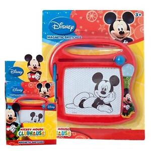 Mickey Mouse Childrens Magnetic Sketcher Sketching/Drawing Board Etch-a-sketch